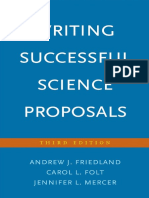Writing Successful Science Reviews