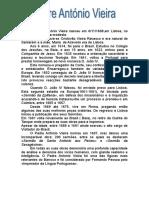 Biografia Antonio Vieira