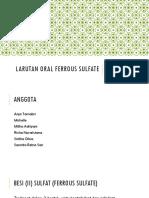 Kelompok 1_Larutan Oral Ferrous Sulfate FINAL