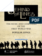Ww1 Popular Songs Resource Pack