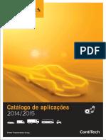 Catalogo Continental de correas - Aplicaciones en coches.pdf