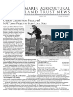 Summer 2008 Marin Agricultural Land Trust Newsletter