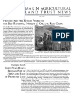 Fall 2008 Marin Agricultural Land Trust Newsletter