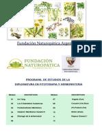 Programa de Estudios Herboristería