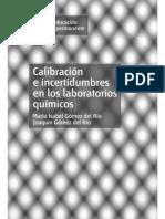 Calibracion e Incertidumbres en Los Laboratorios Quimicos - Gomez 2010