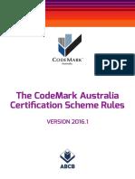 The CodeMark Australia's Certification Scheme