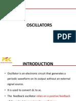 Oscillators & PLL