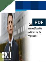 Webinar Certificacion PMP & CAPM PMI