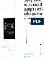 (Language Education) M. A. K. Halliday, Ruqaiya Hasan, Frances Christie-Language, Context, and Text_ Aspects of Language in a Social-Semiotic Perspective -Oxford University Press, USA (1989).pdf