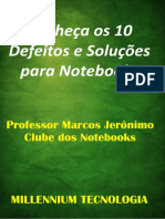 eBook 10 Defeitos Solucoes Notebooks