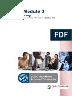Module 3 Manual ICDL