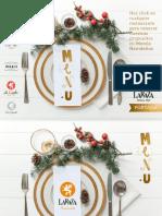Menus Navidad Sevilla 2017 Grupo La Raza