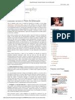 CyberPhilosophy_ Hannah Arendt e Crise Da Educação