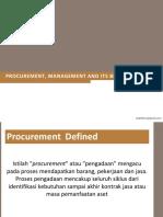 01. Procurement Management