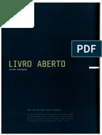 Livro aberto / Álvaro Domingues