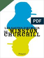 Les Sautes d'Humour de Winston - Churchill, Winston Spencer