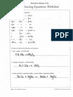 Balancing Equations 15