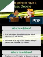 Class Debate1
