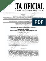 Gaceta Oficial Extraordinaria 6412