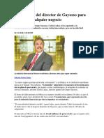 10 Lecciones Del Director de Gayosso Para Resucitar Cualquier Negocio