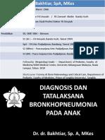 Bronkhopneumonia