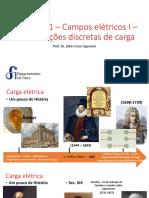 Capítulo 1 – Campos Elétricos I – Distribuições