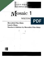 Mosaic 1 Writing