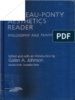 Galen a Johnson the Merleauponty Aesthetics Reader Philosophy and Painting 1