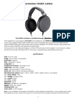 HD58X Evaluation