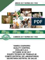 CAMBIOS 17025 ISO