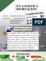 Cadena Logistica de Exportacion