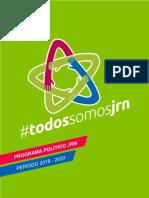 Programa Político 2018-2020 - #todossomosjrn