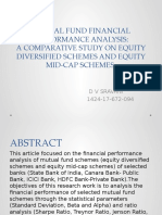 MUTUAL FUND FINANCIAL PERFORMANCE ANALYSIS:A COMPARATIVE STUDY ON EQUITY DIVERSIFIED SCHEMES AND EQUITY MID-CAP SCHEMES