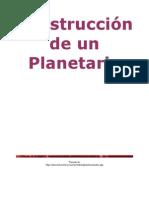 Construir un Planetario