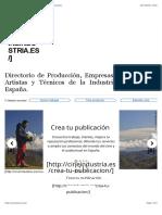 Cine Industria. Directorio de la industria del cine en España..pdf