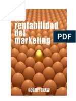RESUMEN - La Rentabilidad Del Marketing - Robert Shaw
