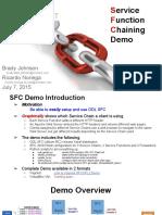 Demo for ODL SFC