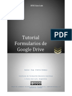 Tutorial Formularios de Google Drive