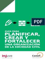 Guía Para Crear, Planear y Planificar Una Organización de La Sociedad Civil