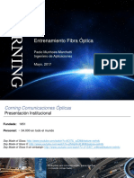 Corning Optical Fiber Training - Peru