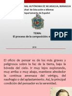Magistral 10 El Bosquejo 2016