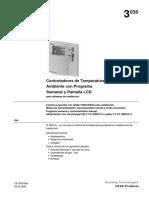 Instrucciones Termostato Siemens