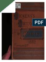Dicken's Dictionary of Paris, 1882. an Unconventional Handbook
