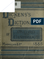 Dickens's Dictionary of Oxford & Cambridge, 1885