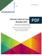 Informe de La OMC 2015