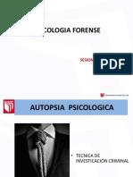 11. SESION Autopsia y Perfil Criminal