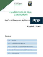 CLASE N° 05. ABASTECIMIENO DE AGUA Y ALC.