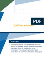 QoS Parameters