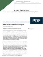 ADENOME PROSTATIQUE - Votre santé par la nature.pdf