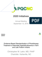 PQCNC New Initiative Proposal Hyperbilirubinemia